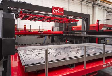 <b>Corte por laser industrial</b> en Sant Martí de Llémena