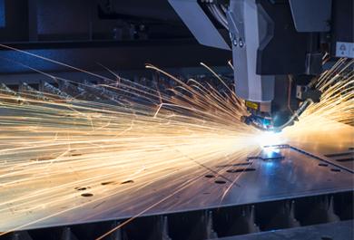 <b>Corte por laser industrial</b> en Santa Coloma de Farners